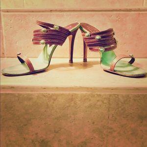Valentino turquoise sandals
